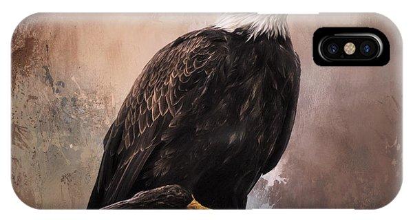 Looking Forward - Eagle Art IPhone Case