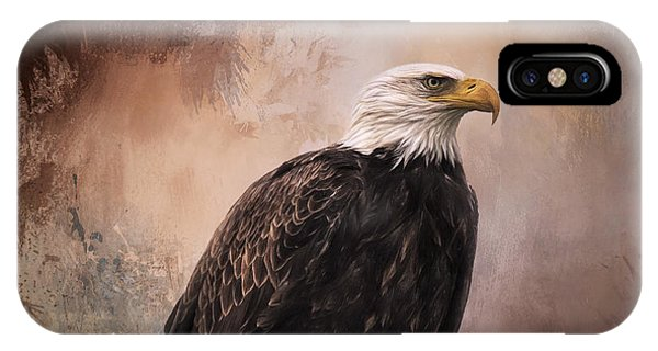 Looking Forward - Eagle Art IPhone Case