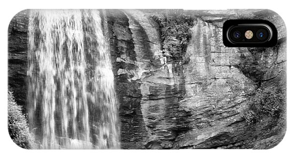 IPhone Case featuring the photograph Looking Glass Falls by Howard Salmon
