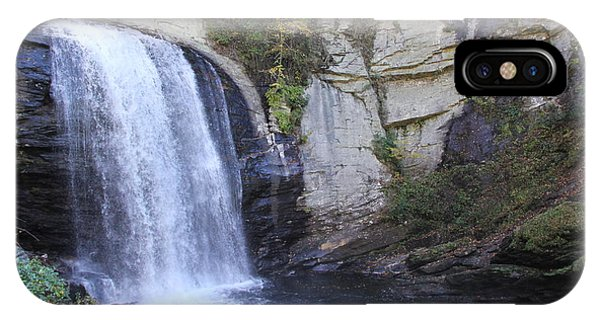 Looking Glass Falls Side View IPhone Case