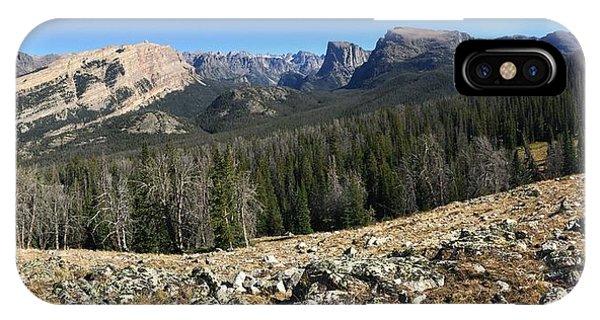 Looking Into The Bridger Wild Lands IPhone Case