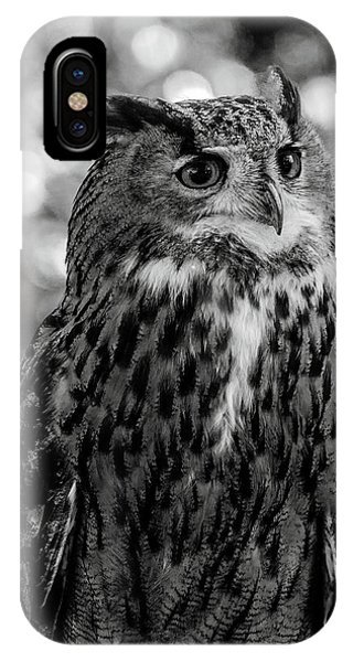 IPhone Case featuring the photograph Looking Owl  by Cliff Norton