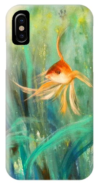 Looking - Square Painting IPhone Case