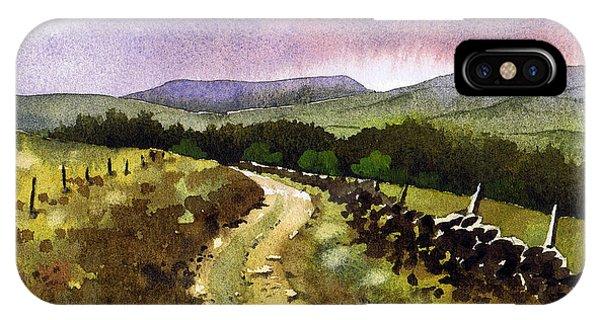 iPhone Case - Looking Towards Pole Moor by Paul Dene Marlor
