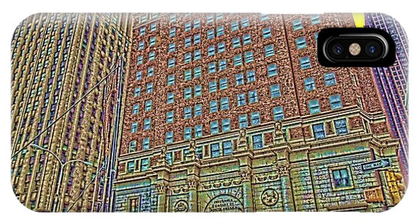 Looking Up In Love Park IPhone Case