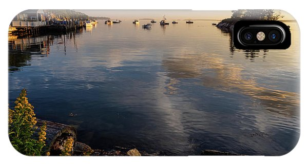 Lookout Point, Harpswell, Maine  -99044-990477 IPhone Case