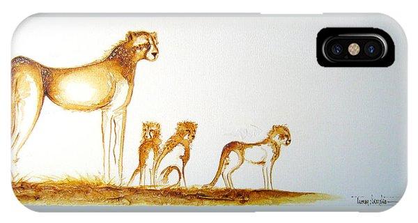 Lookout Post - Original Artwork IPhone Case
