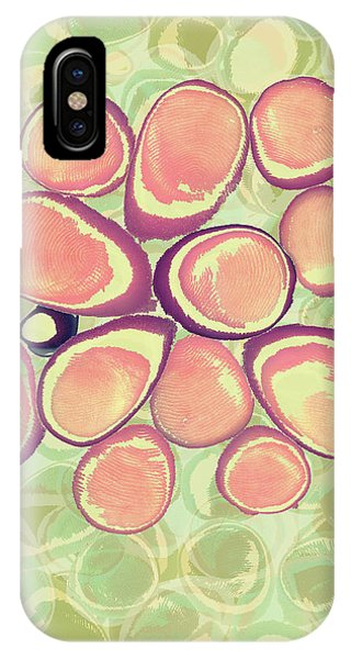 Loopy Dots #6 IPhone Case