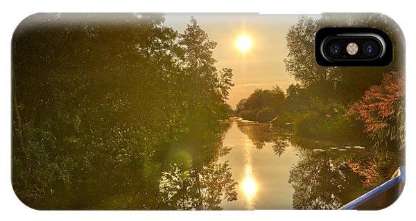Loosdrecht Boat Trip IPhone Case