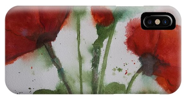 Loose Poppies IPhone Case