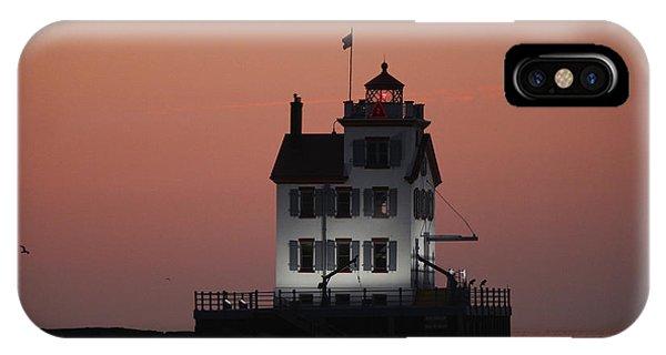 Lorain Lighthouse 1 IPhone Case