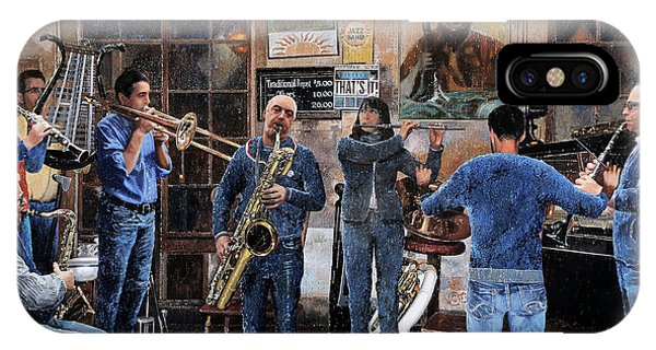 Trumpet iPhone Case - L'orchestra by Guido Borelli