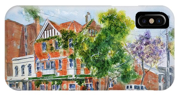 Lord Dudley Hotel IPhone Case