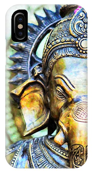 Ethnic iPhone Case - Lord Ganesha by Tim Gainey