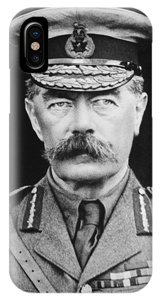Wwi iPhone Case - Lord Herbert Kitchener by War Is Hell Store