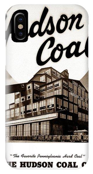 Loree Colliery Larksville Pa. Hudson Coal Co  IPhone Case