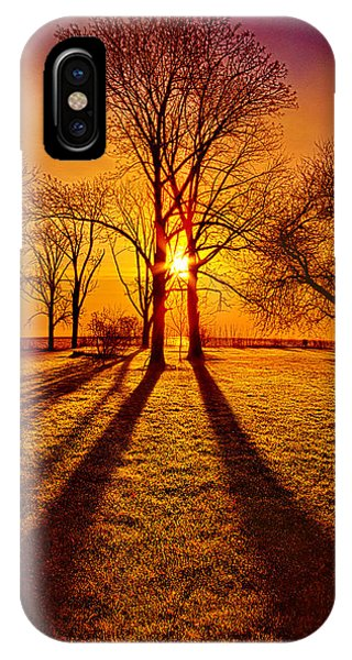 Inspirational iPhone Case - Lores Of Folk by Phil Koch