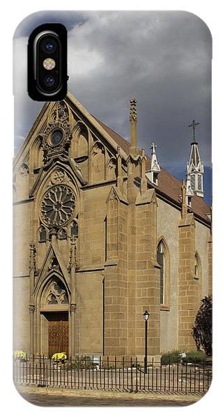 Chapel iPhone Case - Loretto Chapel - Santa Fe by Mike McGlothlen