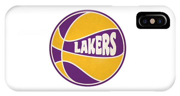 Los Angeles Lakers Retro Shirt IPhone Case