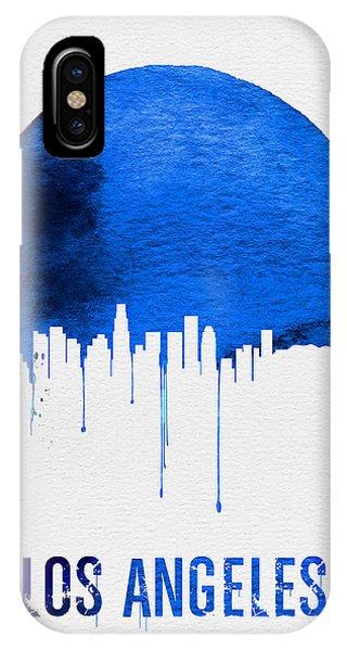 Los Angeles Skyline Blue IPhone Case