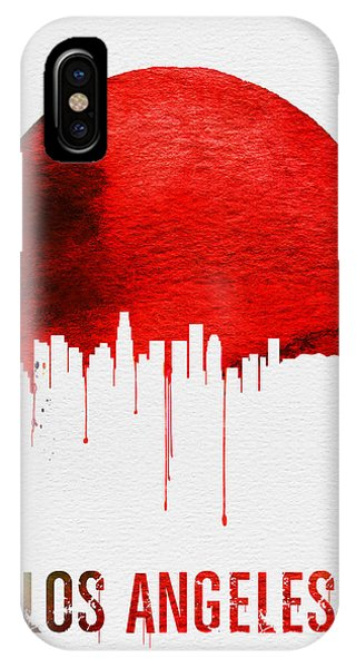 Los Angeles Skyline Red IPhone Case