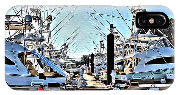 iPhone Case - Los Suenos Dock by Carey Chen