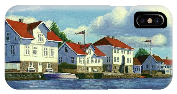 Loshavn Village Norway IPhone Case