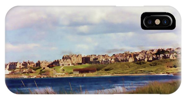 Lossiemouth Bay IPhone Case