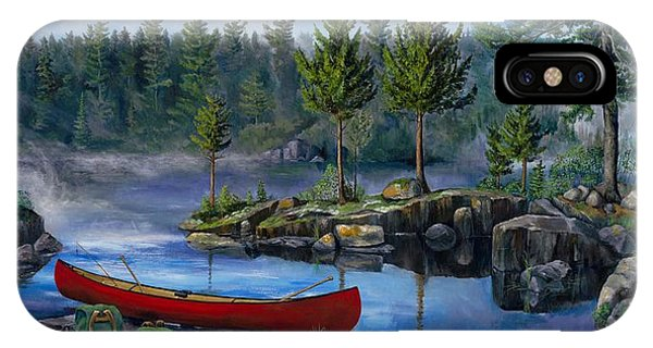 Lost In The Boundary Waters IPhone Case