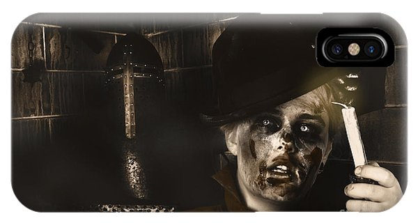 Cunning iPhone X Case - Lost In The Dark. Death Becomes You by Jorgo Photography - Wall Art Gallery