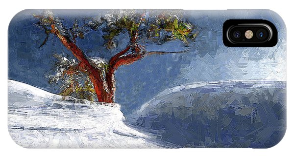 Lost In The Snow IPhone Case