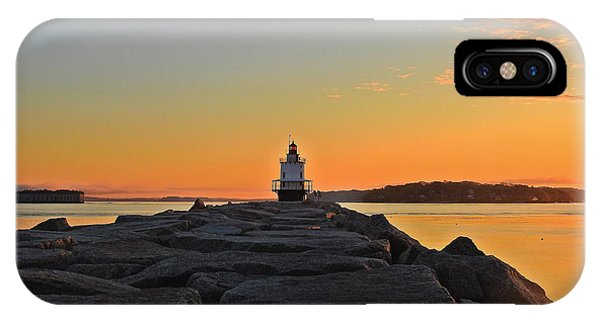Lost In The Sunrise IPhone Case