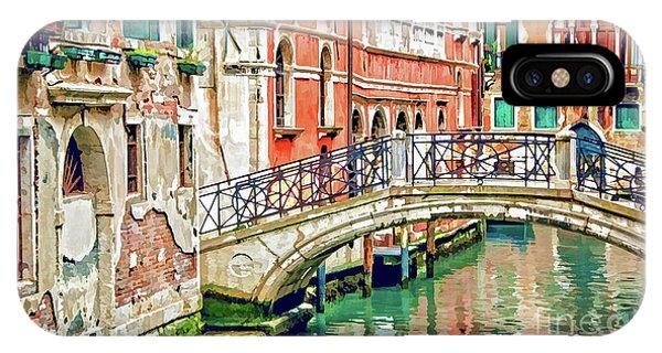 Lost In Venice IPhone Case