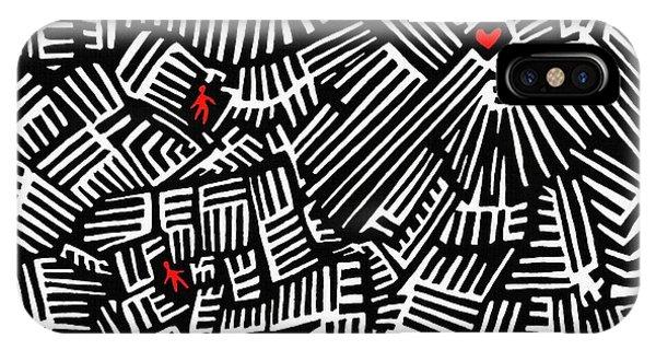 Vibrant iPhone Case - Lost Love by Sarah Loft