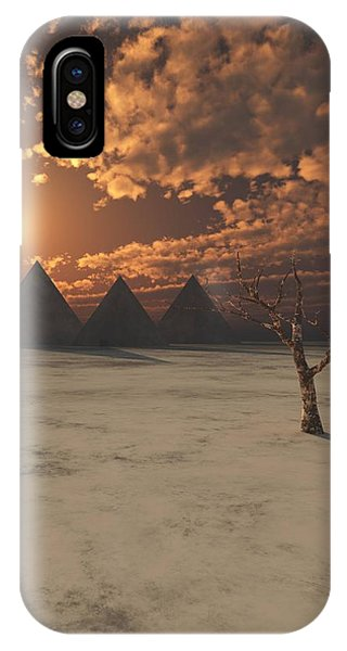 Lost Pyramids IPhone Case