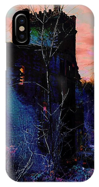 Lost Tower Of The Blue King IPhone Case
