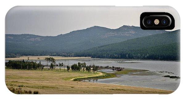 Lost Trail Wildlife Refuge 2 IPhone Case
