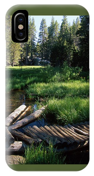Lost Trout Creek IPhone Case