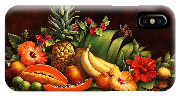 Mango iPhone Case - Lots Of Fruit by Laurie Snow Hein