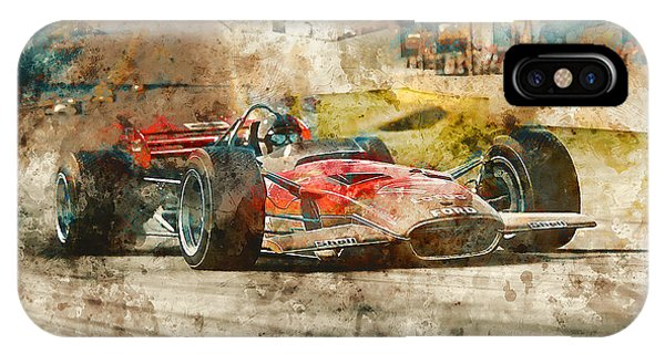 Lotus 49 - 33 IPhone Case