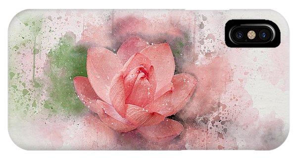Lotus 8 IPhone Case