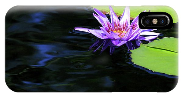 Lotus And Dark Water Refection IPhone Case