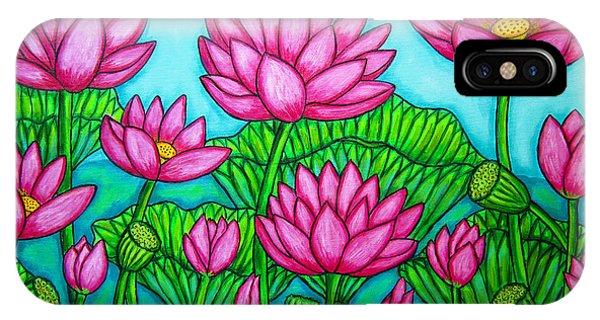 Lotus Bliss II IPhone Case
