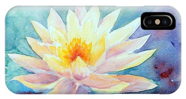 Lotus Awakens IPhone Case
