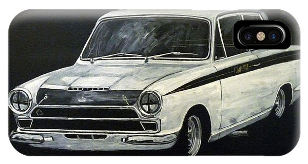 Lotus Cortina IPhone Case