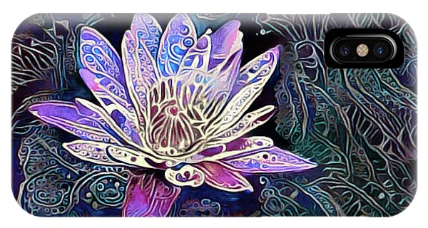Lotus From The Mud IPhone Case