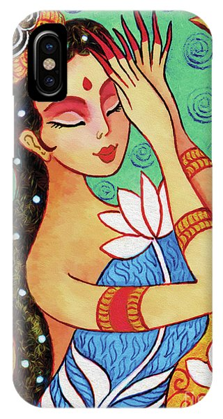 Lotus Meditation IPhone Case