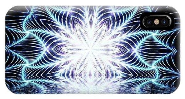 Lotus Rising #kaleidoscope #mandala Phone Case by Michal Dunaj