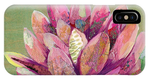 iPhone Case - Lotus Series II - 1 by Shadia Derbyshire