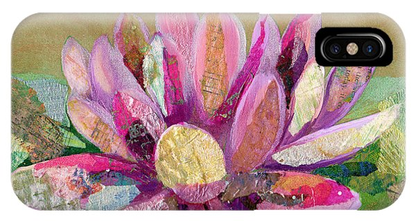 iPhone Case - Lotus Series II - 2 by Shadia Derbyshire